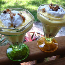 Quick Banana Parfaits
