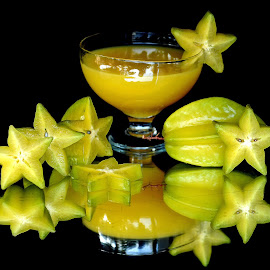 Starfruit and juice #4 by Asif Bora - Food & Drink Fruits & Vegetables (  )