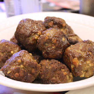 Middle Eastern Spiced Lamb Meatballs