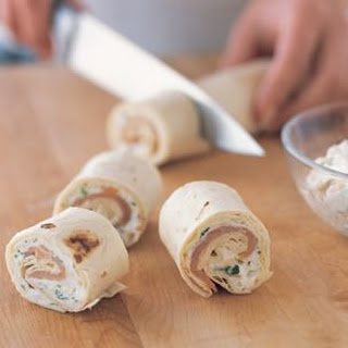 Salmon and Herbed Cheese Pinwheels