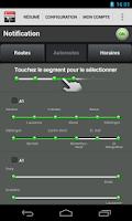 Screenshot of Swiss Traffic Messenger