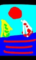 Screenshot of Kids Touch Paint