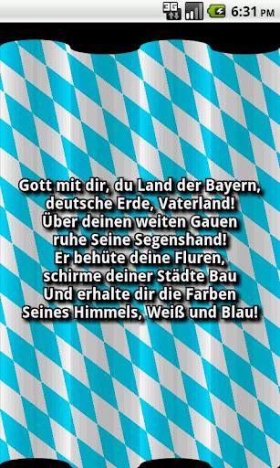 Bayern Hymne App