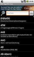 Screenshot of BOS Begriffe Free