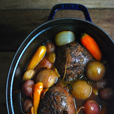 Rustic Venison Pot Roast with Vegetables
