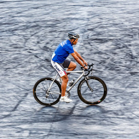 BURNT RUBBER by Joshua Nicholson - Sports & Fitness Cycling
