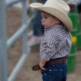 Momma's Don't Let Your Babies.... by Tom Reiman - Babies & Children Children Candids ( cowboy, boy,  )