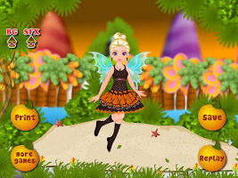 Screenshot of island fairy girls games