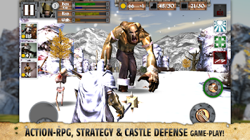 Screenshot of Heroes and Castles