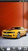 Screenshot of Chevrolet Camaro Live Wallpape