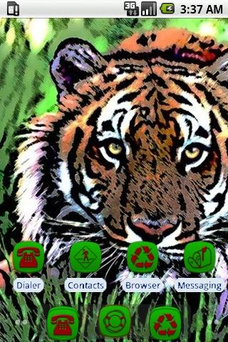 Jungle Tiger [SQTheme] for ADW