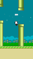 Screenshot of Flappy Penguin