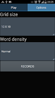 Screenshot of Word Search multilingual