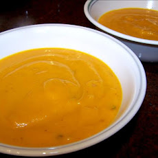 Butternut Carrot Soup