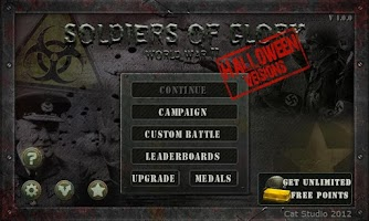 Screenshot of Soldier of Glory WW2 Halloween