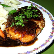 Turkey Cutlets With Balsamic-Brown Sugar Sauce