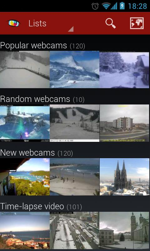 Worldscope Webcams Screenshot 0