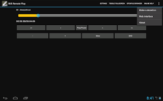 Screenshot of Wifi Remote Play
