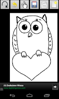Screenshot of Animals Coloring Book