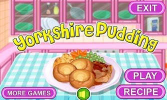 Screenshot of Yorkshire Pudding Cooking