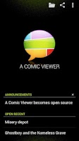 Screenshot of A Comic Viewer