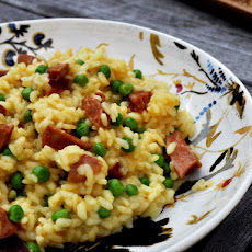 Saffron Rice with Chorizo