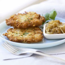 Potato and Cauliflower Latkes
