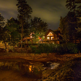 Lake Cabin by Jason Green - Buildings & Architecture Homes ( #keeowee, #fun, #lake, #cabin, #family, #summer )