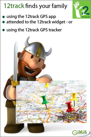 12track GPS Tracking App