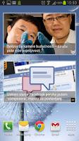 Screenshot of mVijesti