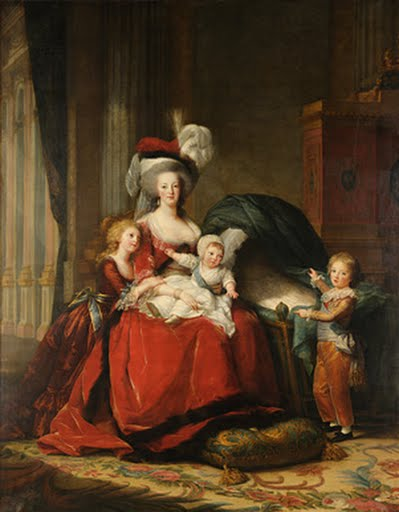 Marie-Antoinette de Lorraine-Habsbourg, Queen of France, and her children , Louise Elisabeth Vigée-Lebrun