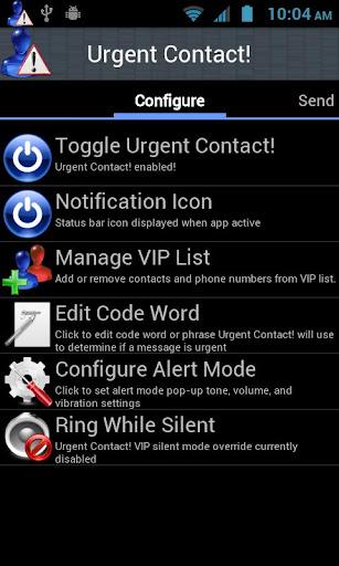 Urgent Contact lite