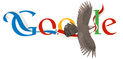 Google Doodle Panama Independence Day 2013