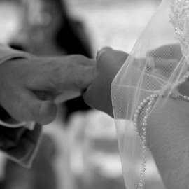 Putting the rings on eachother, saying their  by Julie Dabour - Wedding Ceremony