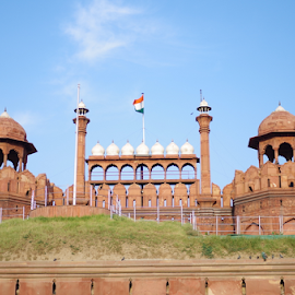 Red Fort, New Delhi by Raghvendra Singh - Buildings & Architecture Statues & Monuments