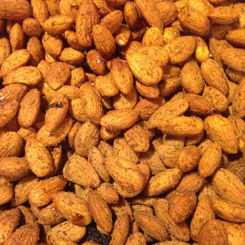 REAL Smoked Almonds
