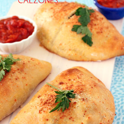 Chicken, Spinach and Artichoke Calzones (Personal Size)