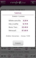 Screenshot of Horarios RENFE FEVE