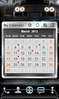 Screenshot of Next Calendar Widget