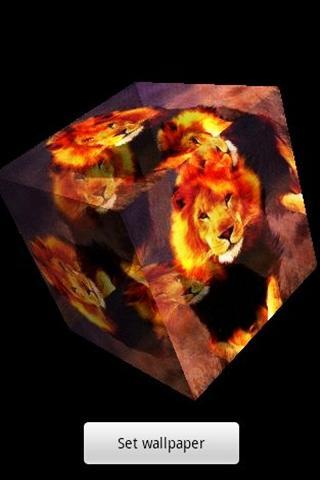 3D ライオン