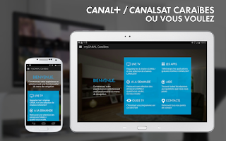 Screenshot of myCANAL Caraïbes, par CANAL+