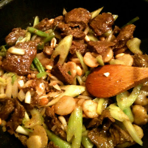 Curried Beef Stir Fry