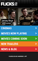 Screenshot of Flicks.co.nz