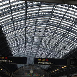 St Pancras Eurostar by Helen Roberts - Buildings & Architecture Other Interior (  )