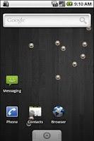 Screenshot of Balls Live Wallpaper