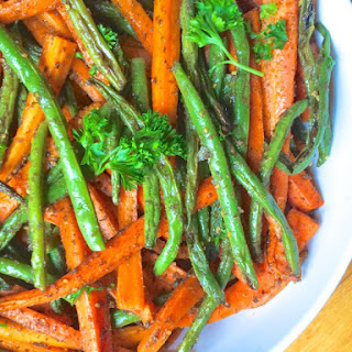 Baked Carrots And Green Beans Recipes