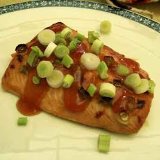 Asian Plum Broiled Salmon