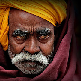 *** by Shibram Nag - People Portraits of Men