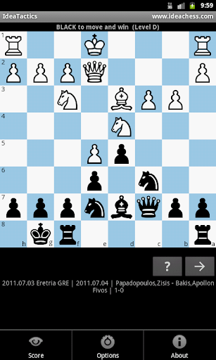 IdeaTactics chess - screenshot