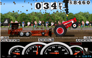 Screenshot of Tractor Pull